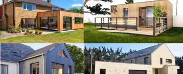 Archilodge constructeur fabricant artisan entreprise et architecte de votre extension agrandissement sur Feucherolles 78810 abri studio de jardin annexe garage chalet bois brique ou parpaing