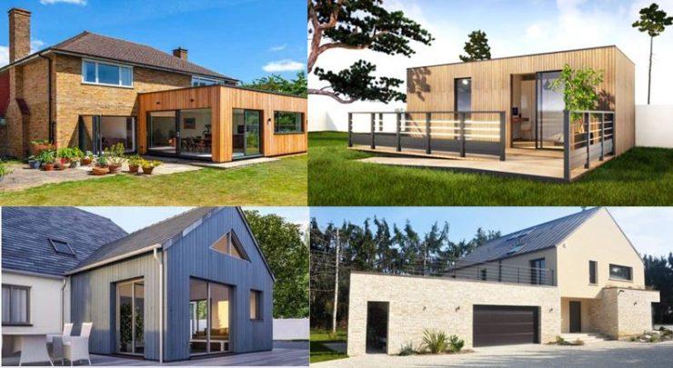 Archilodge constructeur fabricant artisan entreprise et architecte de votre extension agrandissement sur Limay 78520 abri studio de jardin annexe garage chalet bois brique ou parpaing